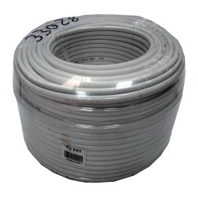 Cable  Coaxial SAT CCTV Blanco Lkprg-01-4