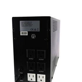 UPS REGULADA SAT UR2000LCD 2000VA LCD 120V  PARTE POSTERIOR
