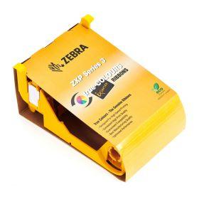 Cinta Ribbon Zebra Color Imp Carnet Serie 3 YMCKOK 165 Img