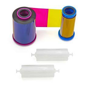Cinta Ribbon Zebra Color Imp Carnet Serie 7 YMCKO 250 Img