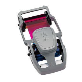 Ribbon ZEBRA Color Imp Carnet  ZC300 YMCKOK 200  Img