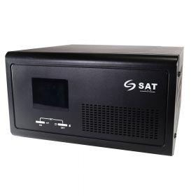 INVERSOR ONDA PURA SAT SM 0612 12VDC 600W 120VAC
