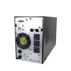 UPS ONLINE SAT UOL10000LCD 10000VA LCD 220V  PARTE FRONTAL