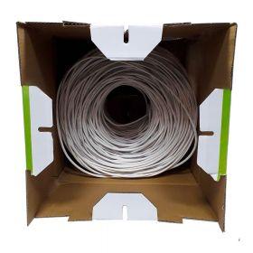 Cable Utp Sat Cat5E puro cobre 0.48mm 305m Interior