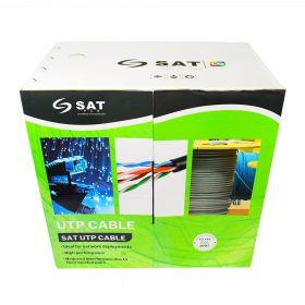 Cable Utp SAT Cat6 CCA 0.54mm 305m Exterior