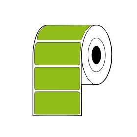 Rollo de Etiquetas TT SAT 100Mmx49Mm C3 R2000 Verde
