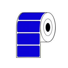 Rollo de Etiquetas TT SAT 100Mmx49Mm C3 R2000 Azul