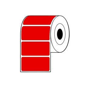 Rollo de Etiquetas TT SAT 100Mmx49Mm C3 R2000 Rojo
