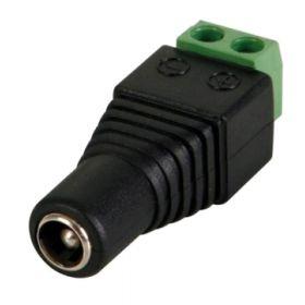 Bornera SAT CCTV Plug Hembra Pq X 100 Un