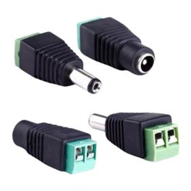 Bornera SAT CCTV Plug Macho Hembra 2 Pares