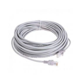 SAT CABLE PATCH CORD UTP CAT5e 10M 26AWG GRIS