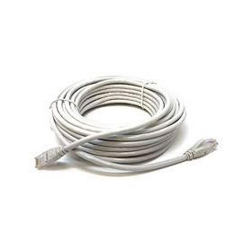 SAT CABLE PATCH CORD UTP CAT5E 15M 26AWG GRIS