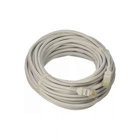SAT CABLE PATCH CORD UTP CAT5E 20M 26AWG GRIS