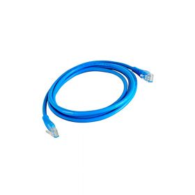 SAT CABLE PATCH CORD UTP CAT5e 2M 26AWG AZUL