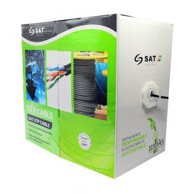 Cable UTP SAT Cat5E Cca 0.5Mm 305M Exterior