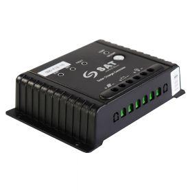 CONTROLADOR SOLAR SAT GSC-F12-10-LED PWM 12V 10A
