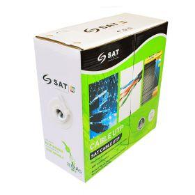 Cable utp SAT CAT5E CCA 0.5MM 100M exter
