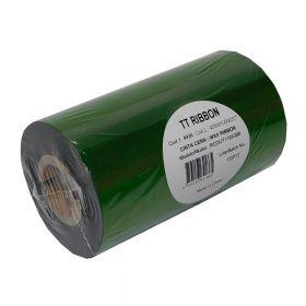 Ribbon Cera 110Mmx300Mts Out Film Verde Tt